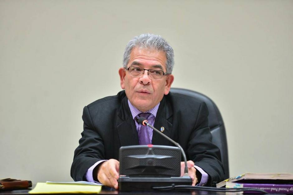El Juez Miguel Ángel Gálvez es quien lleva este caso. (Foto: Wilder López/Soy502)