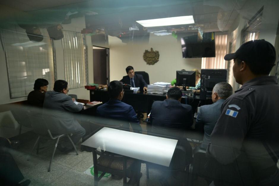 """Durante audiencia, el MP explicó que """"Eco"""" no podrá relacionarse con otros sindicados. (Foto: Wilder López/Soy502)"""