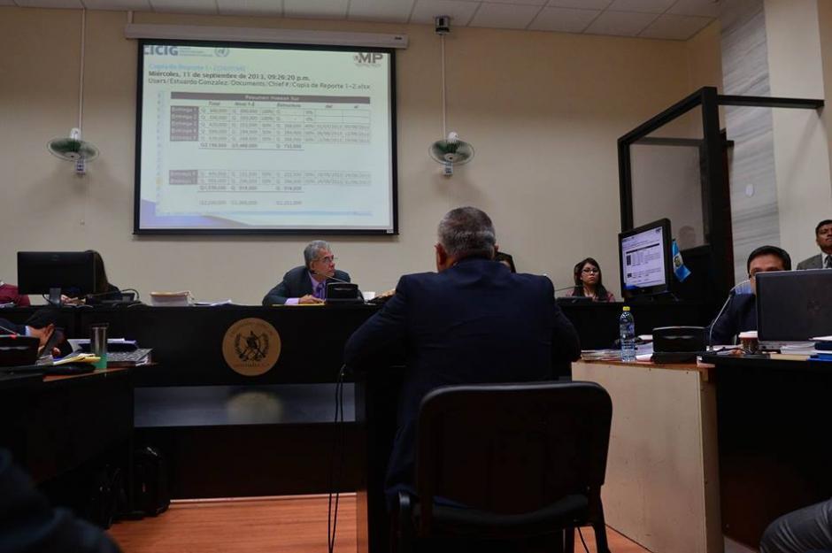 El juzgado de Mayor Riesgo B es donde se desarrolla la audiencia.  (Foto: Wilder López/Soy502)