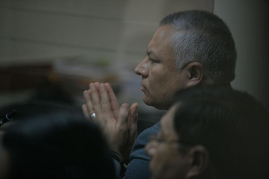 """El colaborador eficaz Salvador Estuardo González """"Eco"""" recibió su primer beneficio. (Foto: Wilder López/Soy502)"""