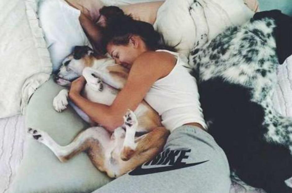 La investigación revela que dormir con tu mascota te trae más beneficios de los que pensaste. (Foto: ecoveani.com)