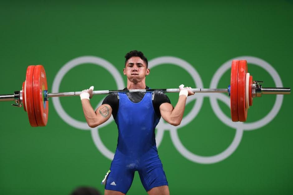 El atleta Edgar Pineda logró 4 récords nacionales. (Foto: Aldo Martínez/Enviado especial Nuestro Diario)