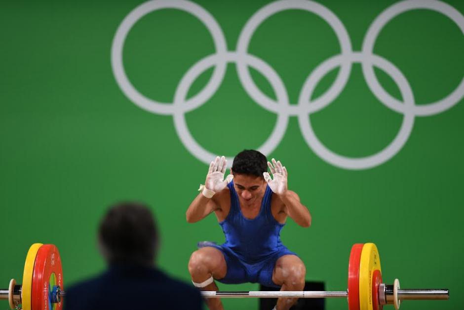 """El atleta debe esperar el grupo """"A"""" para definir posiciones en 56 kg. (Foto: Aldo Martínez/Enviado especial Nuestro Diario)"""