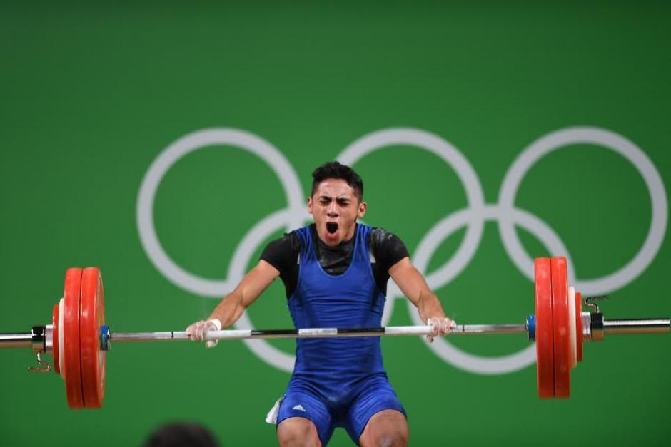 Pineda rompió el récord nacional en el estilo de envión. (Foto: Aldo Martínez/Enviado especial Nuestro Diario)