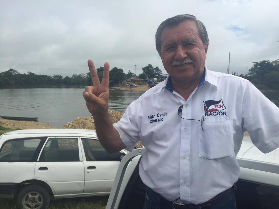 El diputado Edgar Ovalle es miembro de Avemilgua. (Foto: Archivo/Soy502)