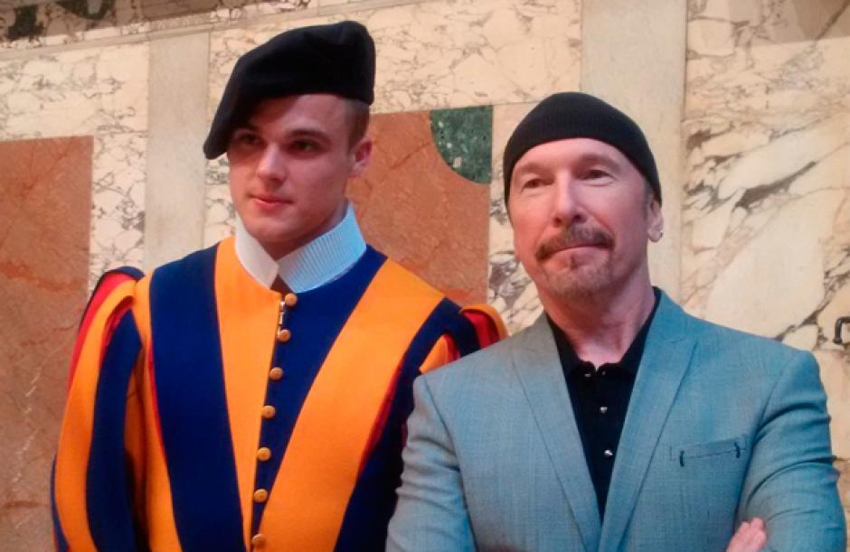 The Edge, es el guitarrista de la banda británica U2. (Foto: elsoldemexico.com.mx)