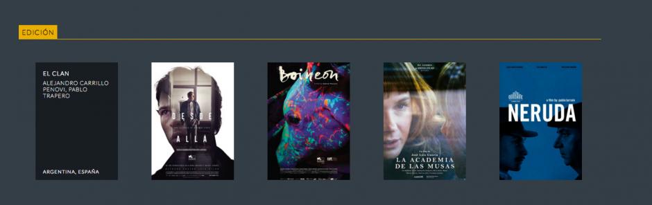 La mejor edición es de: (Foto: Premios Fenix oficial)