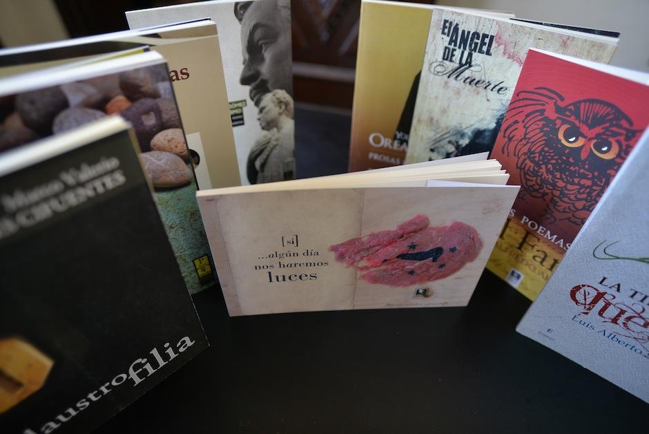 Editorial Cultura nace promocionar la obra de escritores guatemaltecos. (Foto: Wilder López/Soy502)