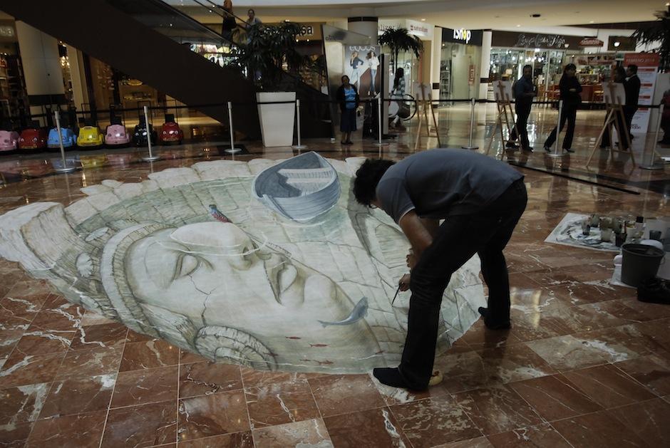 El quetzal, ave símbolo de nuestro país, juega un lugar importante en esta exposición. (Foto: Jesús Alfonso/Soy502)