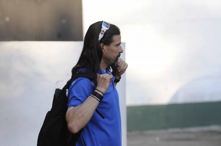 Marcelo Balboa, exjugador de Estados Unidos, actualmente trabaja en la cadena Univisión. (Foto: Pedro Pablo MIjangos/Soy502)