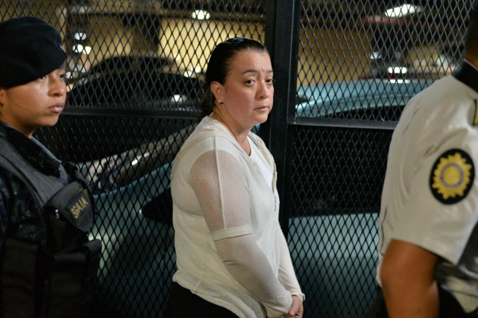 Judith Ruiz es una de las capturadas por el MP y CICIG. (Foto: Wilder López/Soy502)