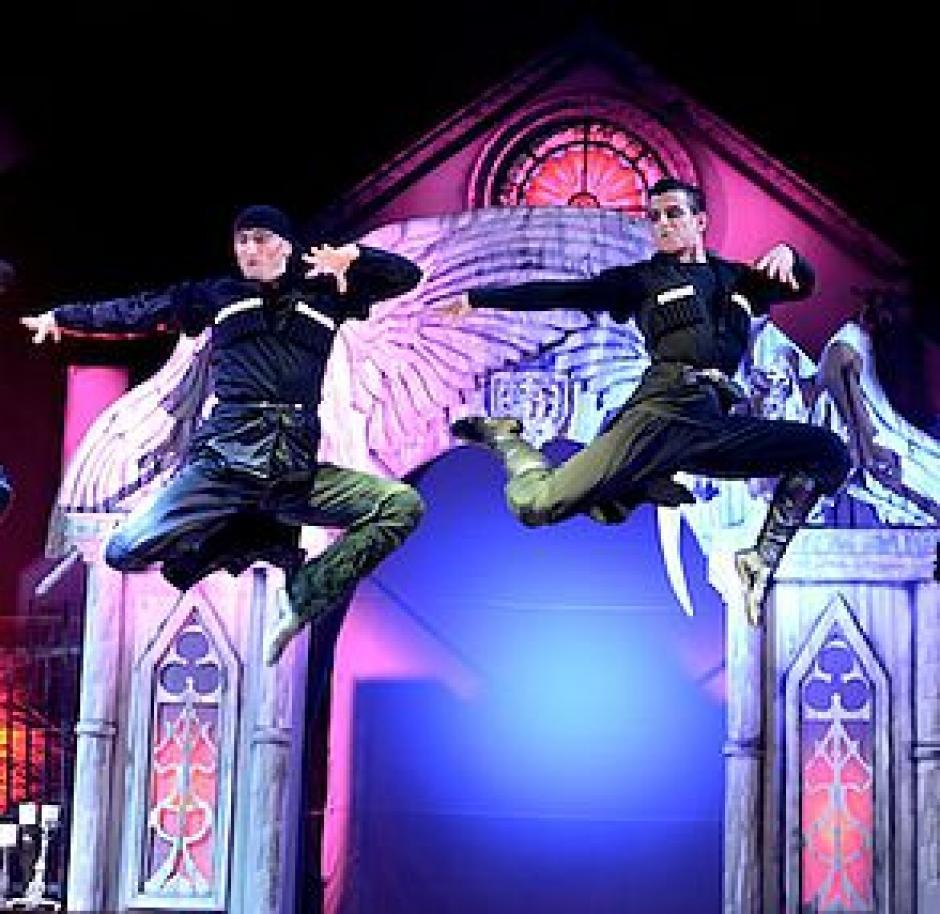 Artistas internacioanles son parte del espectáculo. (Foto: The Vampire Circus)