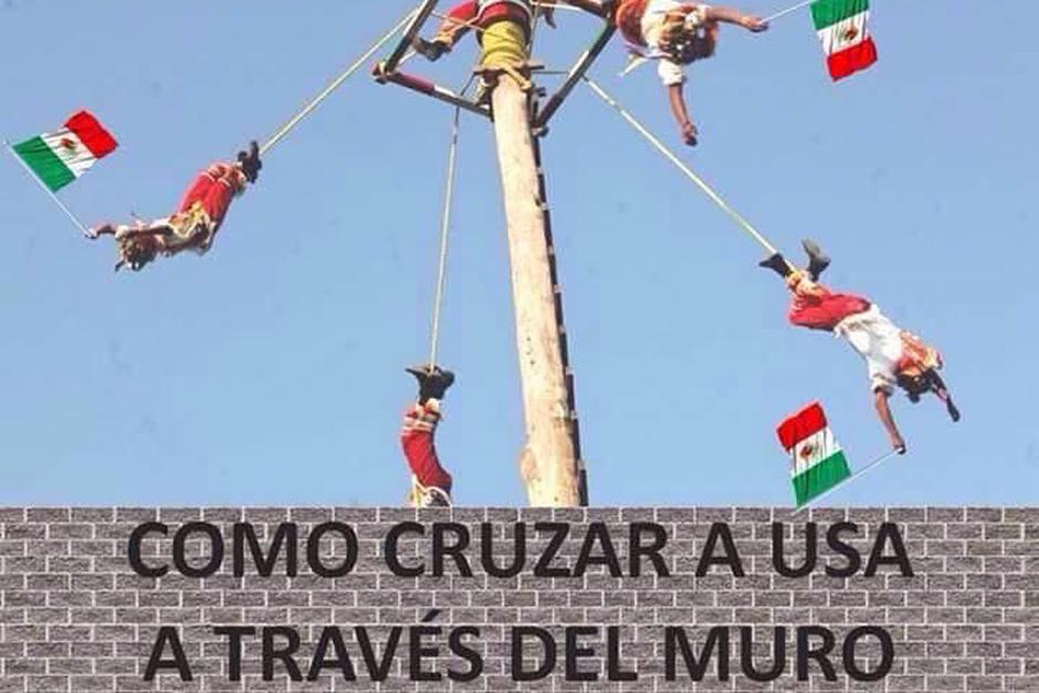 Donald Trump dijo que México pagaría por la construcción de un muro en la frontera de Estados Unidos. (Foto: Twitter)