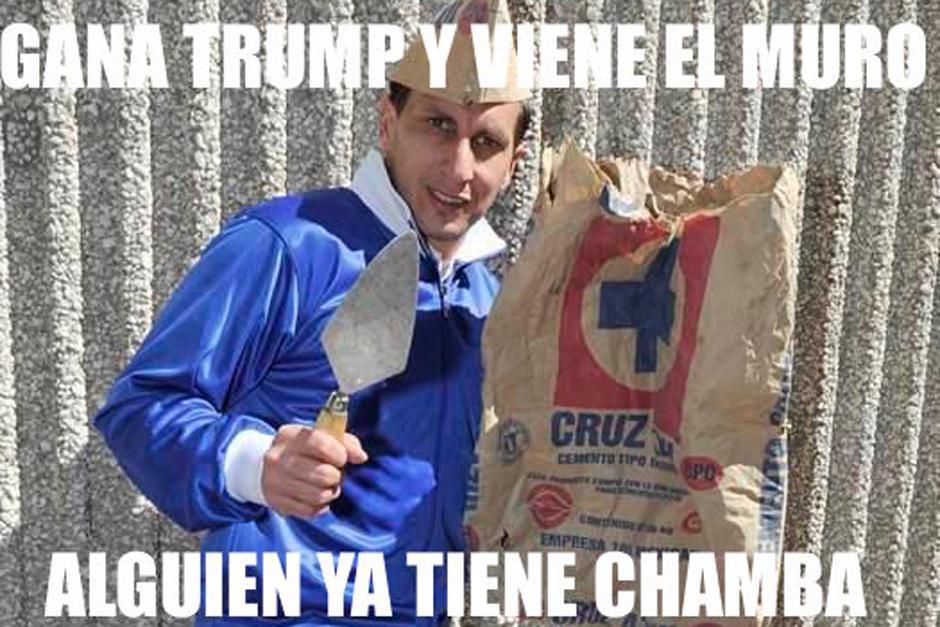 Los mexicanos se han tomado con gracia el triunfo de Donald Trump. (Foto: Twitter)