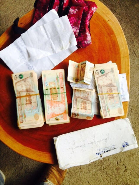 Durante los operativos han localizado dinero aparentemente producto de la extorsión. (Foto: PNC)