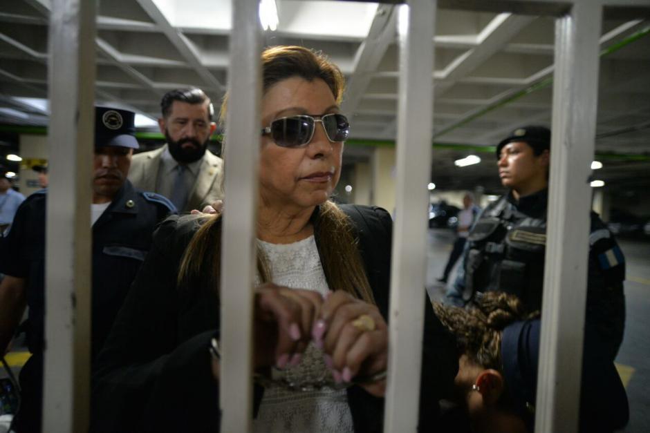 El MP asegura que Anabella de León se resistió al arresto. (Foto: Archivo/Soy502)