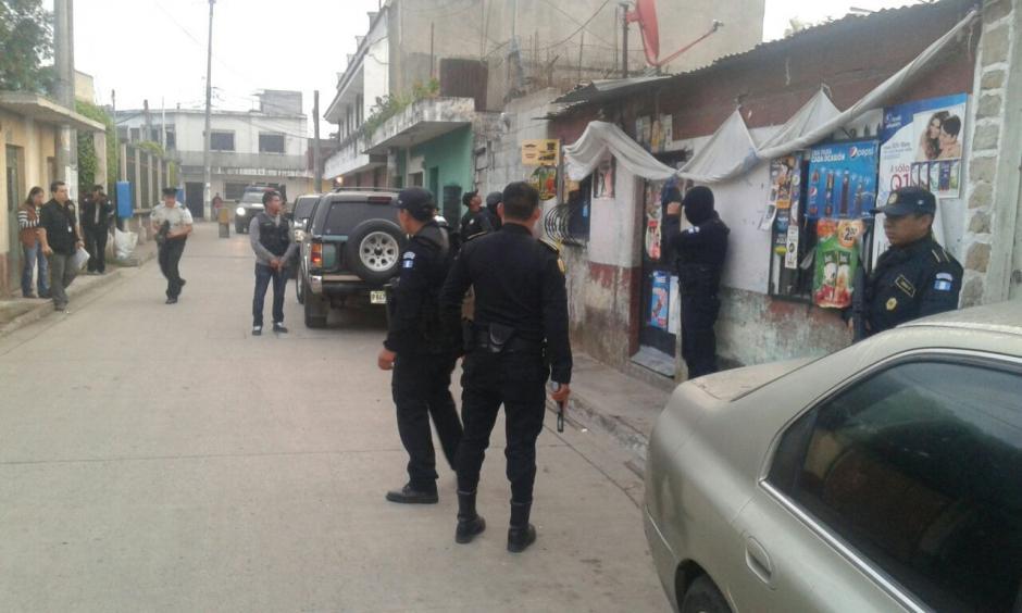 Las autoridades capturaron a 36 presuntos extorsionistas. (Foto: PNC)