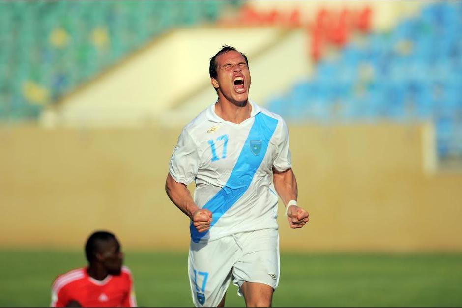 Con la selección Pezzarossi marcó 25 goles. (Foto: Nuestro Diario)