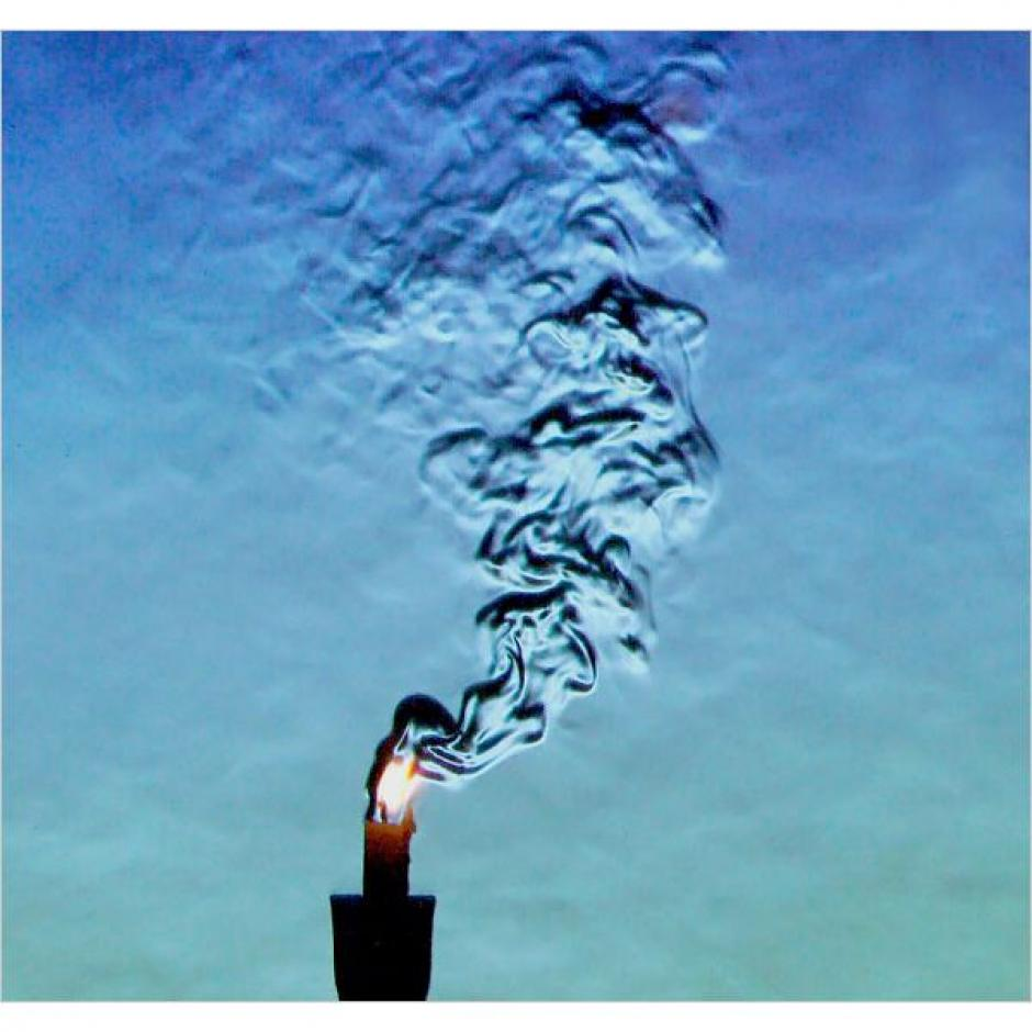 El efecto Schlieren capta variaciones de fluidos generados por calor o el sonido. (Foto: brighthub.com)