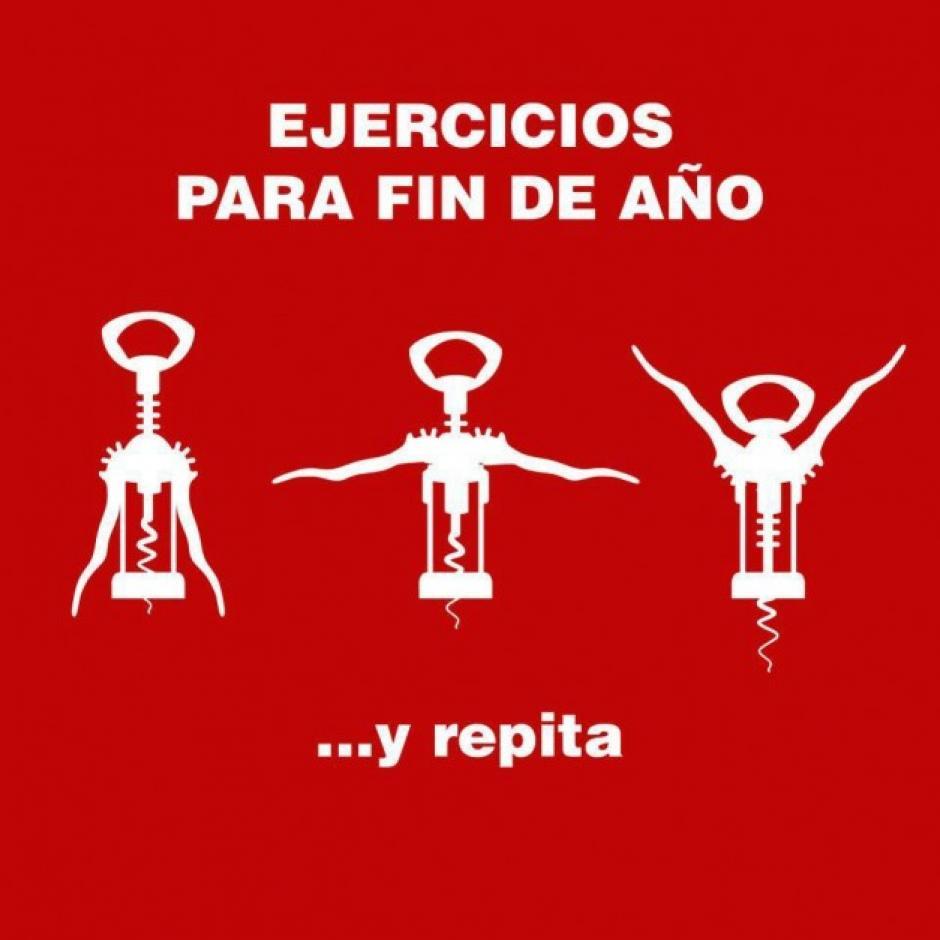 Algunas actividades físicas, como destapar botellas, se vuelven más comunes en esta época del año. (Foto: peru.com)
