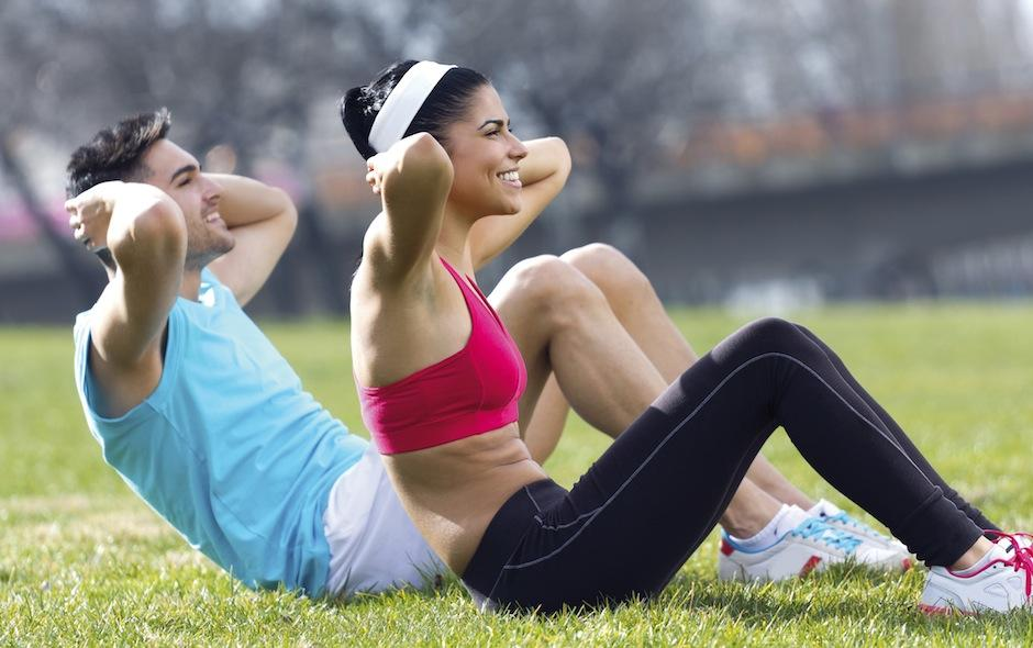 Una rutina de ejercicio aumenta tus niveles de felicidad. (Foto: tuvidanatural)