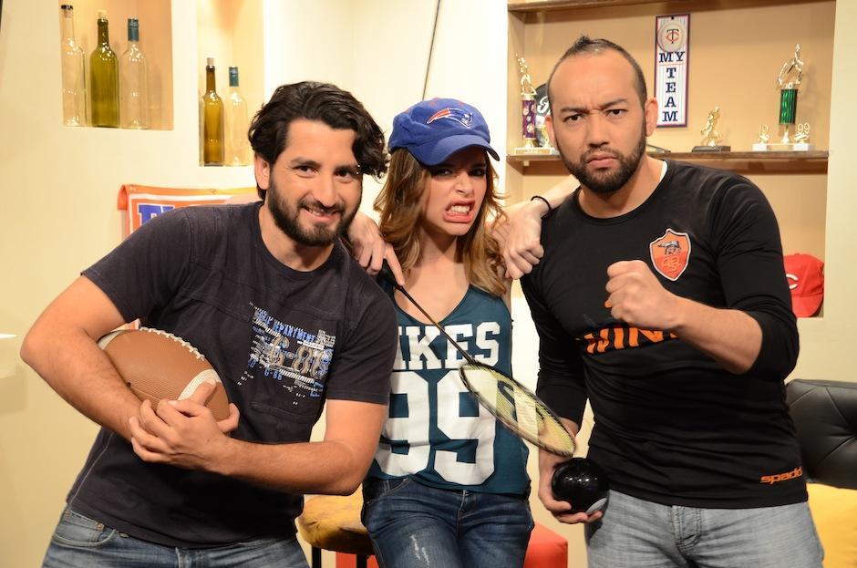 Yoshi, Jenny y Boca tienen la química perfecta para compartir lo que más les gusta: el deporte. (Foto: Selene Mejía/Soy502)
