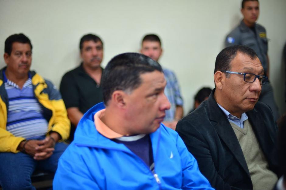 Otros de los implicados en la audiencia de primera declaración. (Foto: Jesús Alfonso/Soy502)