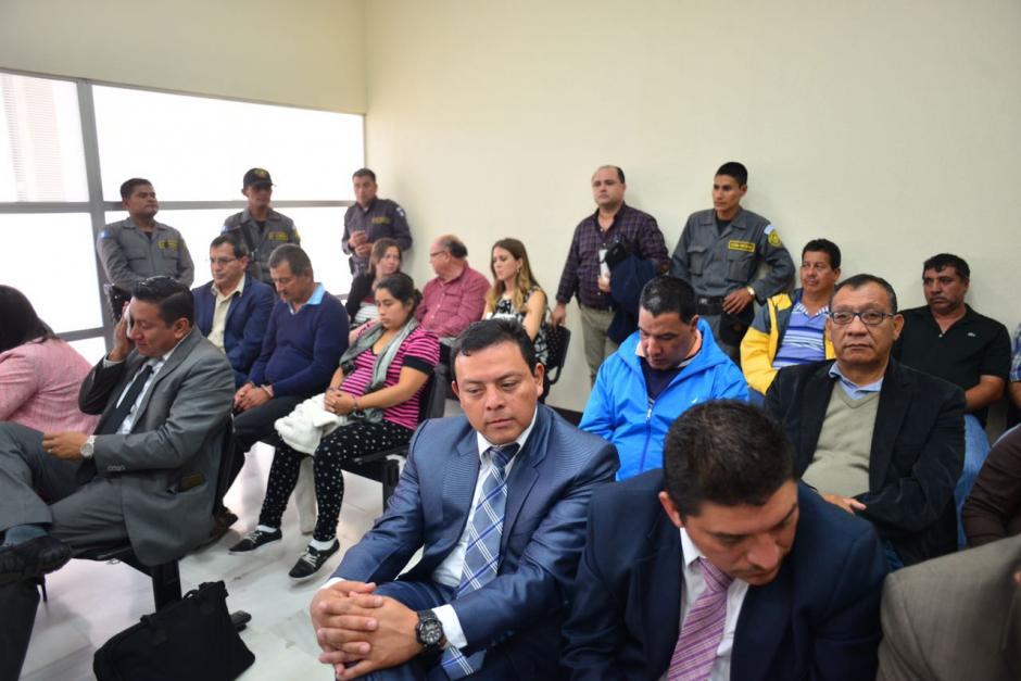 La sala se encontraba llena para la audiencia. (Foto: Jesús Alfonso/Soy502)