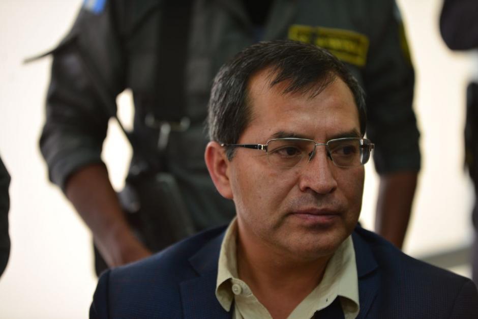 El exministro Elmer López está acusado formar parte de la estructura. (Foto: Jesús Alfonso/Soy502)