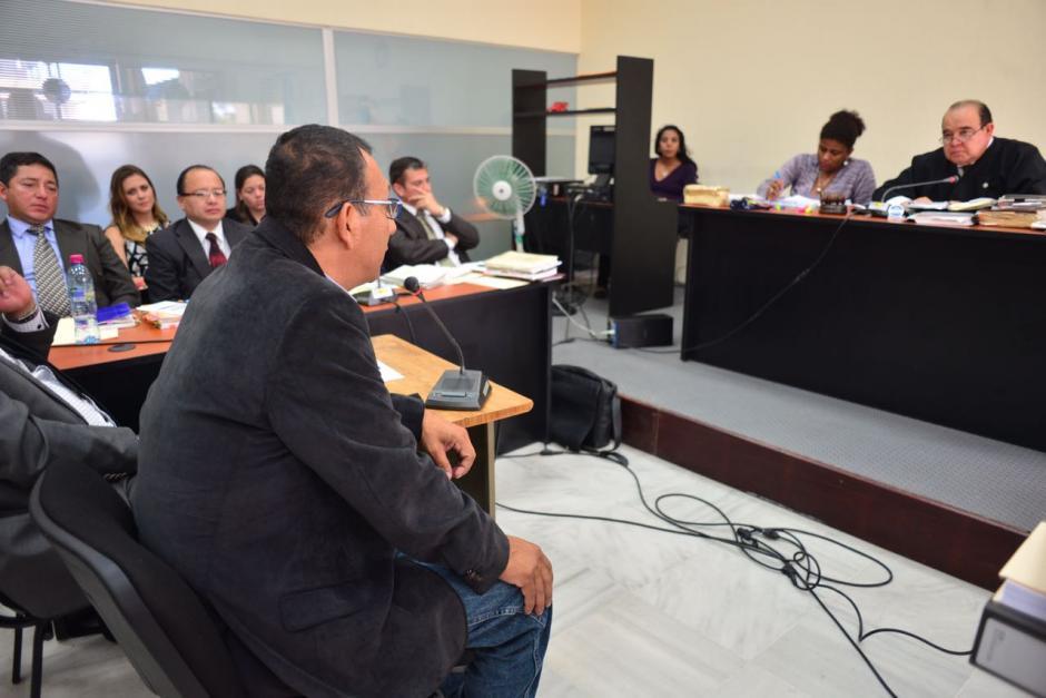 Todos los acusados se presentaron ante la judicatura. (Foto: Jesús Alfonso/Soy502)