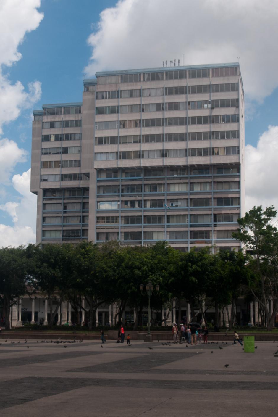 Juan Carlos Monzón, reveló que apartamento del edificio El Centro se utilizó como bodega desde 2013. (Foto: Alejandro Balán/Soy502)