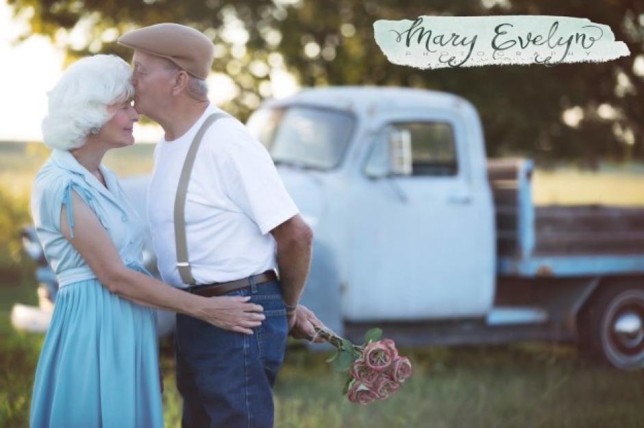 Clemma y Sterling Elmore, han estado casados por 57 años. (Foto: buzzfeed.com)