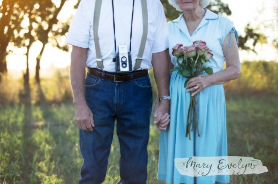 La sesión fotográfica estuvo inspirada en una romántica película. (Foto: buzzfeed.com)