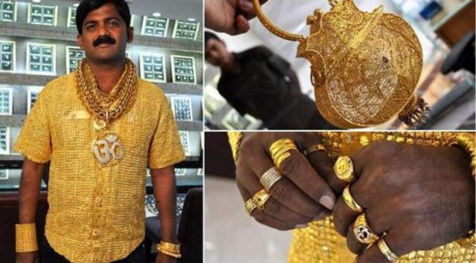 El empresario estaba obsesionado con el oro. (Imagen: diez.hn)