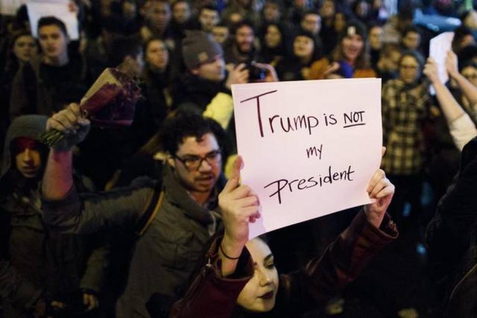 Las manifestaciones se presentaron días después de conocer los resultados electorales. (Foto: El Nuevo Herald)