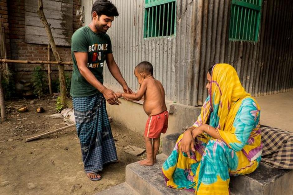 El pequeño vive en Magura, un pueblo ubicado al sur de Bangladesh. (Foto: elciudadano)