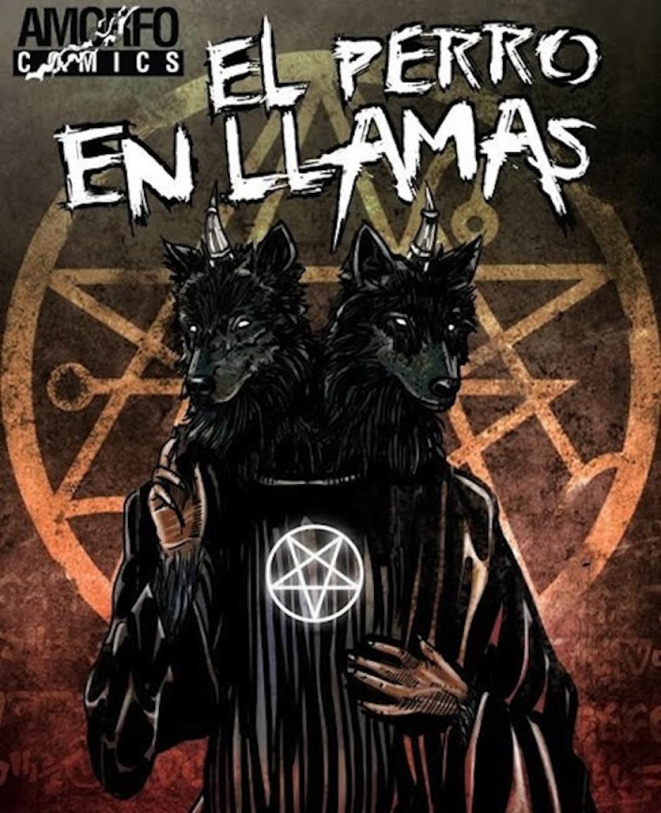 """""""El perro en llamas"""" es uno de los libros de Byron Quiñonez. (Foto: oficial)"""