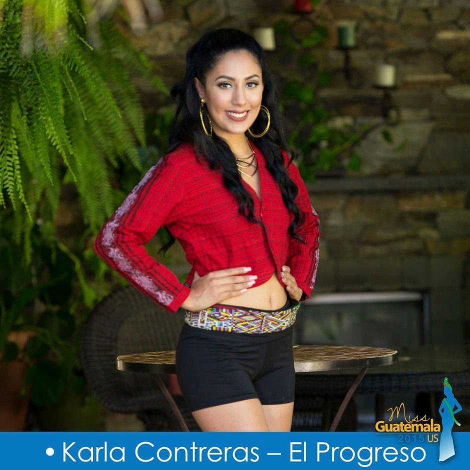 Karla Contreras representa a El Progreso en Estados Unidos. (Foto: Miss Guatemala US)