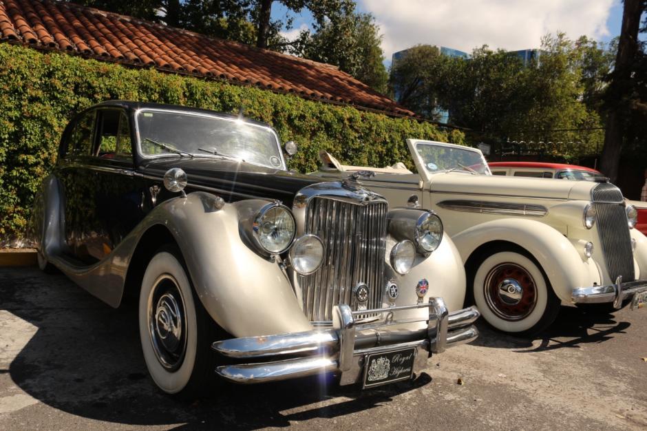 """Este hermoso Jaguar aportará elegancia a la tradicional exposición """"El Rock de los Carros"""". (Foto: cortesía Sidec)"""