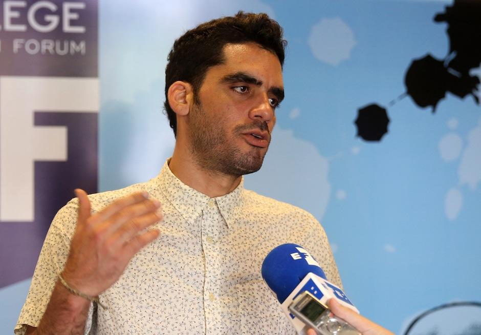El cubano dijo a EFE en entrevista que el cambio de la isla es una lucha que incumbe a los cubanos. (Foto: Esteban Biba/EFE)