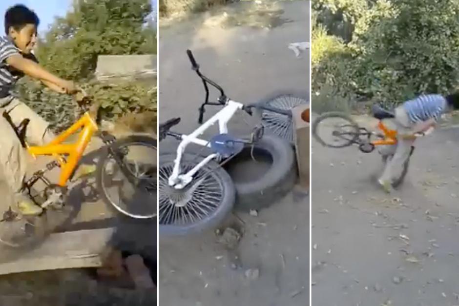 """El """"Tarro"""" se hace viral en internet gracias a su caída en bicicleta"""