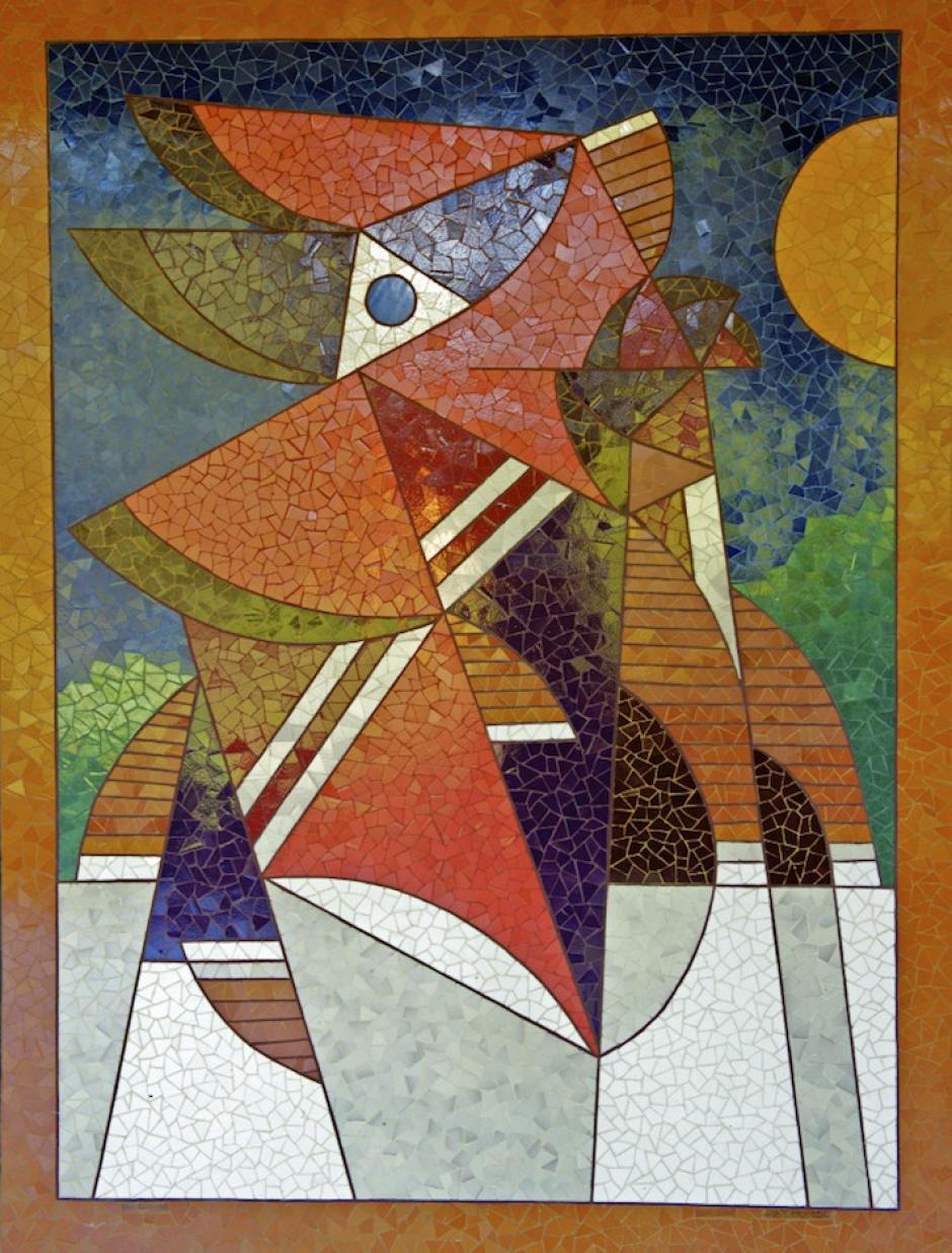 Luis Días se expresa con mucho color. (Foto: carlosrmartinez.wordpress.com)