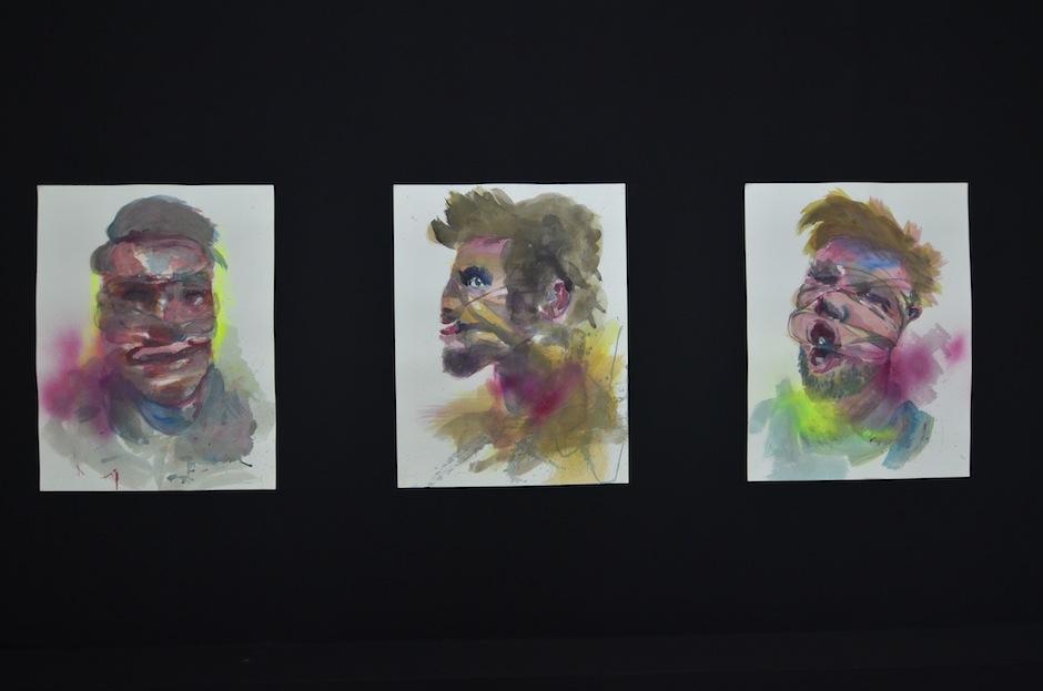 Su trabajo es un resultado de la pintura, el arte urbano y el arte pop. (Foto: Selene Mejía/Soy502)
