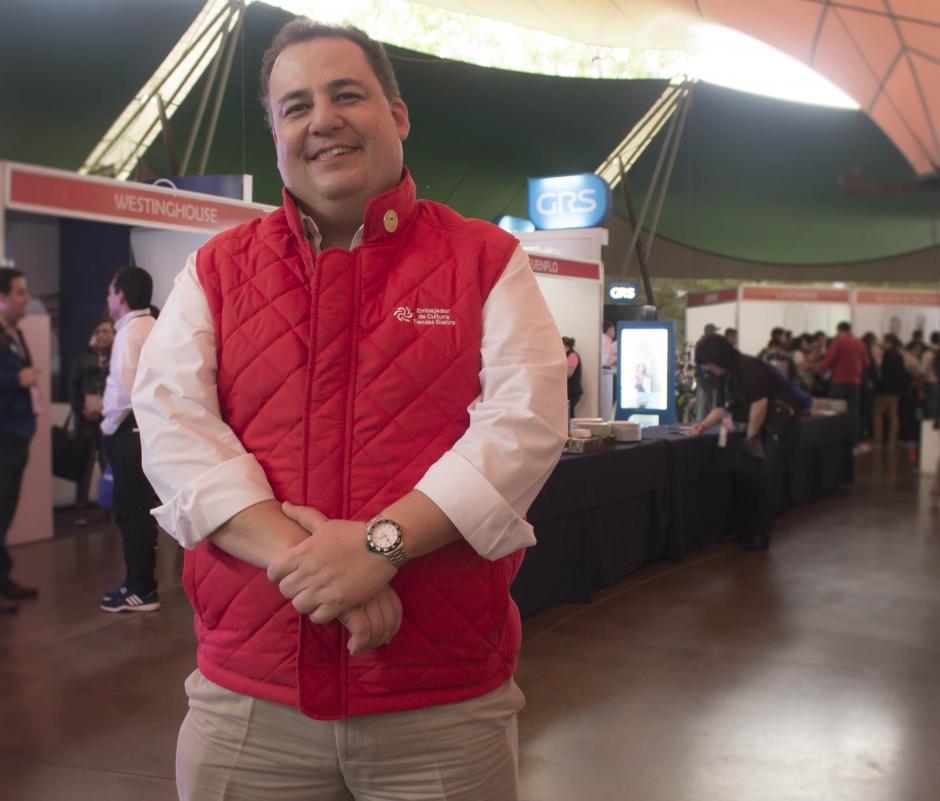 Gerardo Girón, director de país de Tiendas Elektra. (Foto: Eddie Lara/Soy502)