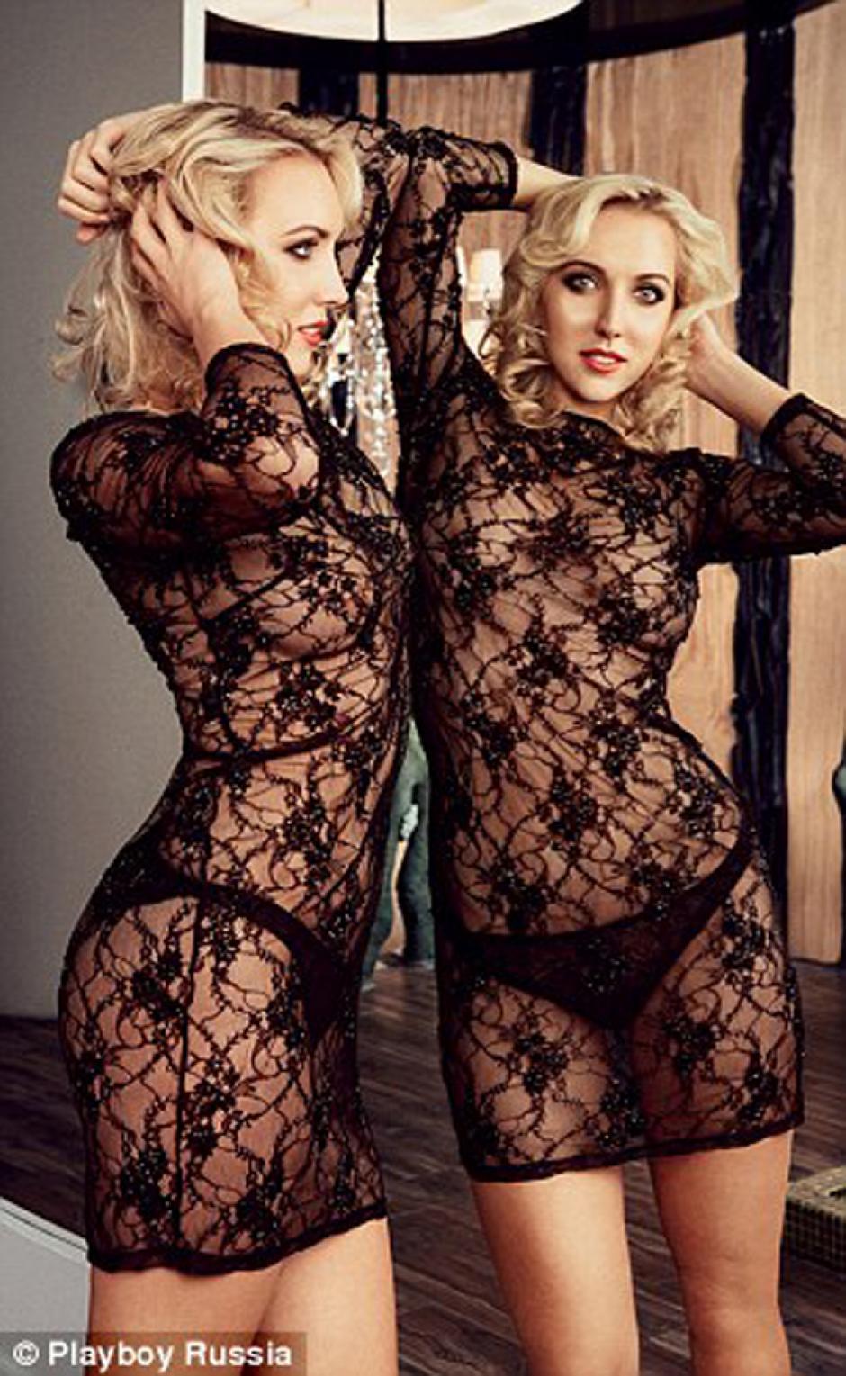 El vestido de encaje le sienta muy bien a la bella Elena. (Foto: Daily Mail)