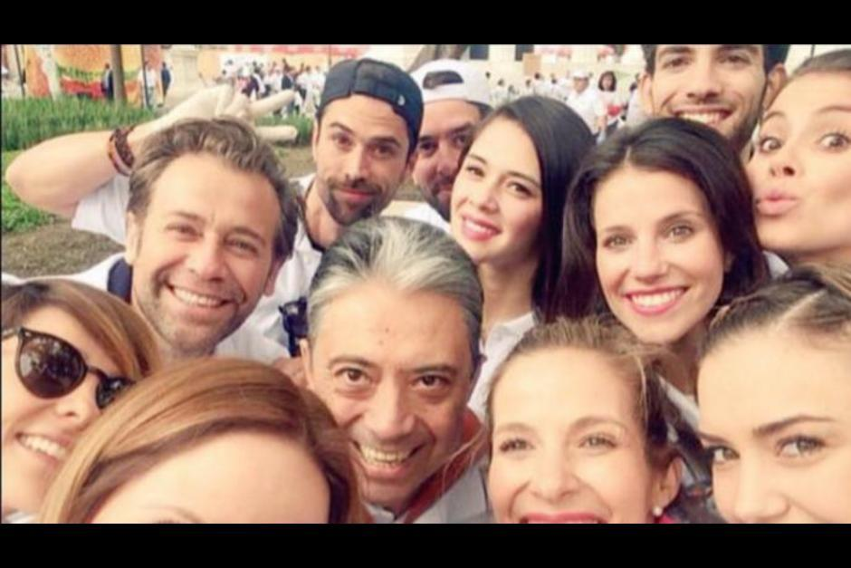 Cristian Landon estudió en la academia de TV Azteca. (Foto:elgrafico.mx)