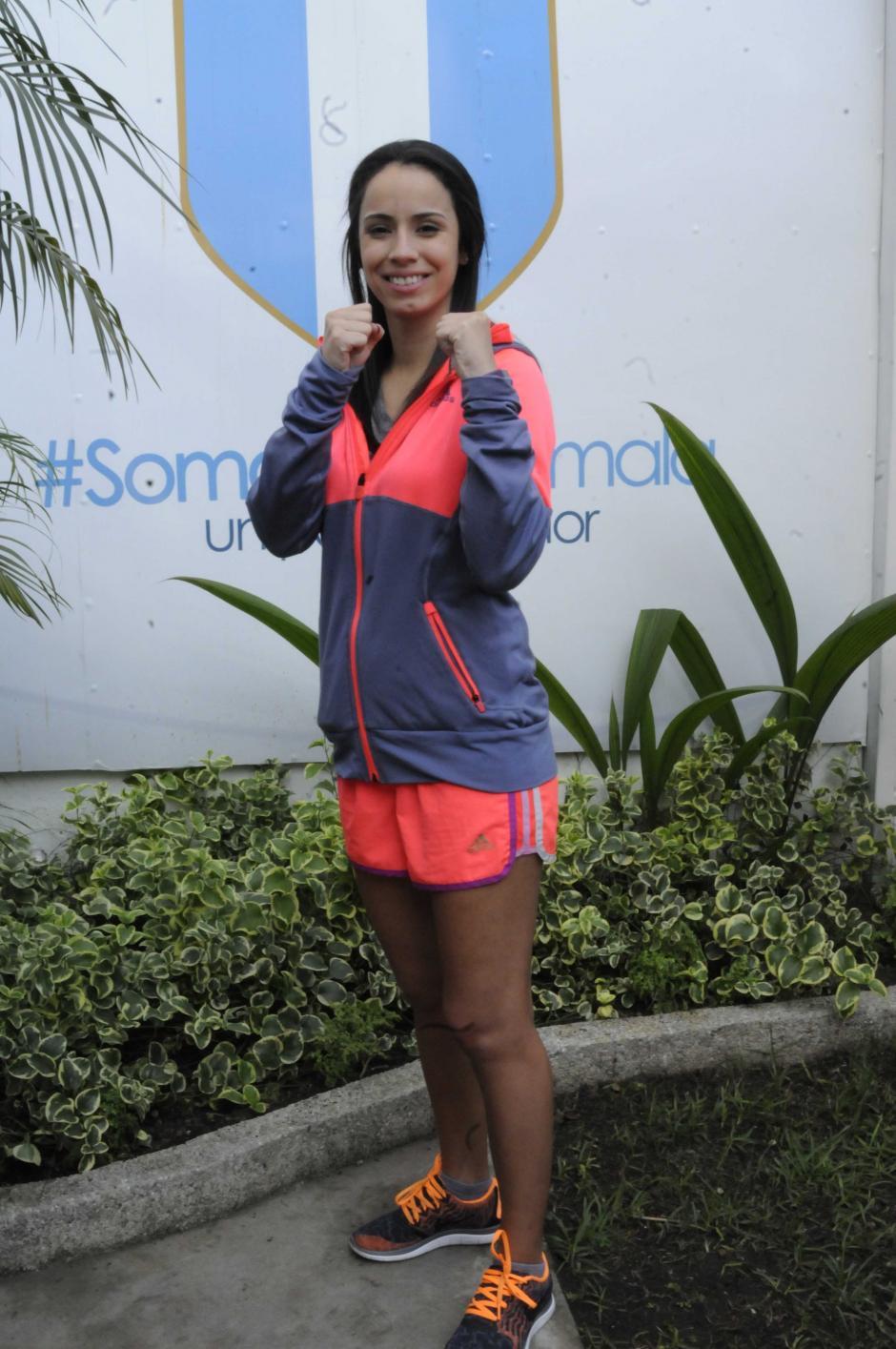 """Todos los días """"Ely"""" asiste a las instalaciones del área médica del Comité Olímpico Guatemalteco, para realizar sus terapias en la rodilla izquierda.  (Foto: Pedro Pablo Mijangos/Soy502)"""