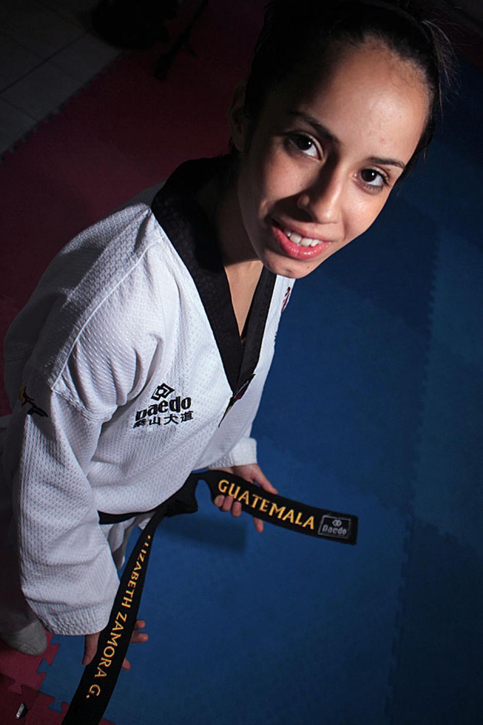 Elizabeth Zamora Gordillo ha representado a Guatemala en todos los juegos del ciclo olímpico.