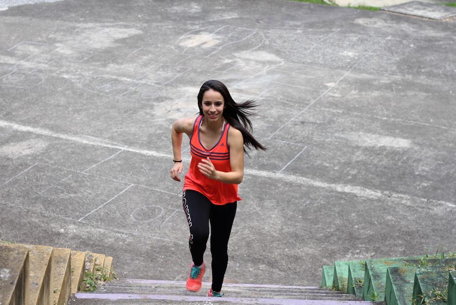 La atleta nacional espera con ansias volver a competir por Guatemala. (Foto: Luis Barrios/Soy502)