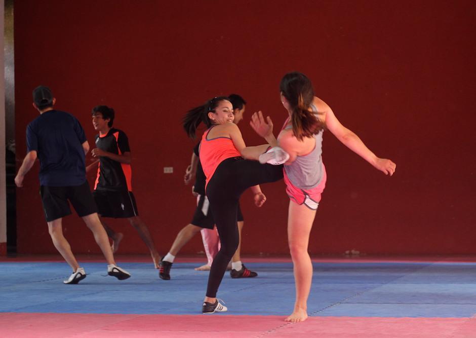 Zamora ya entrena con toda normalidad junto a los demás seleccionados. (Foto: Luis Barrios/Soy502)